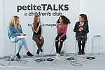 during the petiteTALKS panel discussion on at the Javits Center in New York City on January 07, 2018.