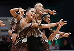 """07.12.2019,  GER; Tanzen, WDSF Weltmeisterschaft der Lateinformationen, Finale, im Bild Moon Dance(MGL) mit dem Thema """"Falcon"""" Foto © nordphoto / Witke"""
