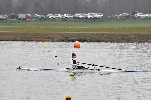 477 EveshamRC J15A.1x..Marlow Regatta Committee Thames Valley Trial Head. 1900m at Dorney Lake/Eton College Rowing Centre, Dorney, Buckinghamshire. Sunday 29 January 2012. Run over three divisions.