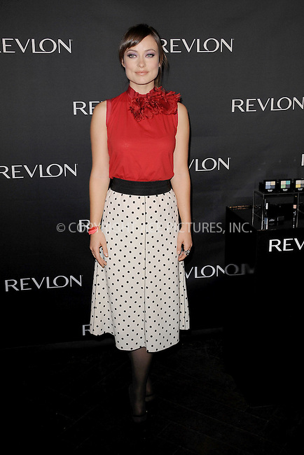 WWW.ACEPIXS.COM . . . . . .December 5, 2011, New York City....Olivia Wilde, Revlon Brand Ambassador, launches four new Revlon eye products at The Lamb's Club on December 5, 2011 in New York City....Please byline: KRISTIN CALLAHAN - ACEPIXS.COM.. . . . . . ..Ace Pictures, Inc: ..tel: (212) 243 8787 or (646) 769 0430..e-mail: info@acepixs.com..web: http://www.acepixs.com .