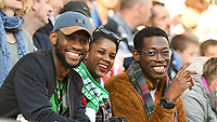 20190608 - REIMS , FRANCE : illustration of fans  pictured during the female soccer game between Norway – the Grashoppene - and Nigeria – The Super Falcons - , the first game for both teams in group A during the FIFA Women's  World Championship in France 2019, Saturday 8 th June 2019 at the Auguste Delaune Stadium in Reims , France .  PHOTO SPORTPIX.BE | DIRK VUYLSTEKE