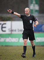 Referee during the UEFA Youth League round of 16 match between Tottenham Hotspur U19 and Monaco at Lamex Stadium, Stevenage, England on 21 February 2018. Photo by Andy Rowland.