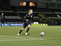 Jamie Lindsay in the St Mirren v Celtic Clydesdale Bank Scottish Premier League U20 match played at St Mirren Park, Paisley on 18.12.12..