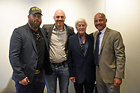 Scott Welch (L), Mickey Helliet, Colin Hart and John Conteh during the 'I Am Duran' Film Screening at Universal Pictures on 23rd May 2019