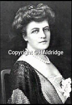 BNPS.co.uk (01202 558833)<br /> Pic: HAldridge/BNPS<br /> <br /> A portrait of Eleanor Widener.<br /> <br /> Golden gift of gratitude - A beautiful gold watch three wealthy widows gifted to the captain of the Carpathia who rescued them from the Titanic disaster is to be sold for £50,000.<br /> <br /> Madeline Astor, Marian Thayer and Eleanor Widener bought the 18ct gold pocket watch from Tiffany & Co after they returned safely to New York following the sinking that claimed there husbands lives.<br /> <br /> They presented it to Capt Arthur Rostron as an expression of thanks and gratitude for rescuing them and attempting to save their three husbands who all drowned.<br /> <br /> The watch is now coming up for sale at Henry Aldridge and Son of Devizes, Wilts.