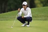 Kevin NA (USA) on the 8th green during Thursday's Round 1 of the 2014 PGA Championship held at the Valhalla Club, Louisville, Kentucky.: Picture Eoin Clarke, www.golffile.ie: 7th August 2014