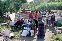 Roma -Sgomberato insediamento rom