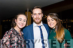 Pictured at the St. Vincent de Paul Society at I.T. Tralee Fashion Show in Ballyroe Heights Hote On Thursday night: From left were: Alisa Mc Carthy, Steven Healy,  Fiona Madden,