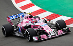 12.05.2018 Estaban Ocon (FRA) Sahara Force India F1 Team at Formula One World Championship,  Spanish Grand Prix, Qualifying, Barcelona, Spain