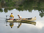 Angler and his dog - Fool Hollow Lake