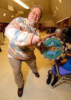 Celebrating winter solstice in Wasilla, Alaska.