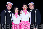 Killarney Strictly Come Dancing contestants at the INEC on Friday night front row l-r: Ciaran McCarthy, Marian Casey, Niamh O'Carroll and Kevin Lynch