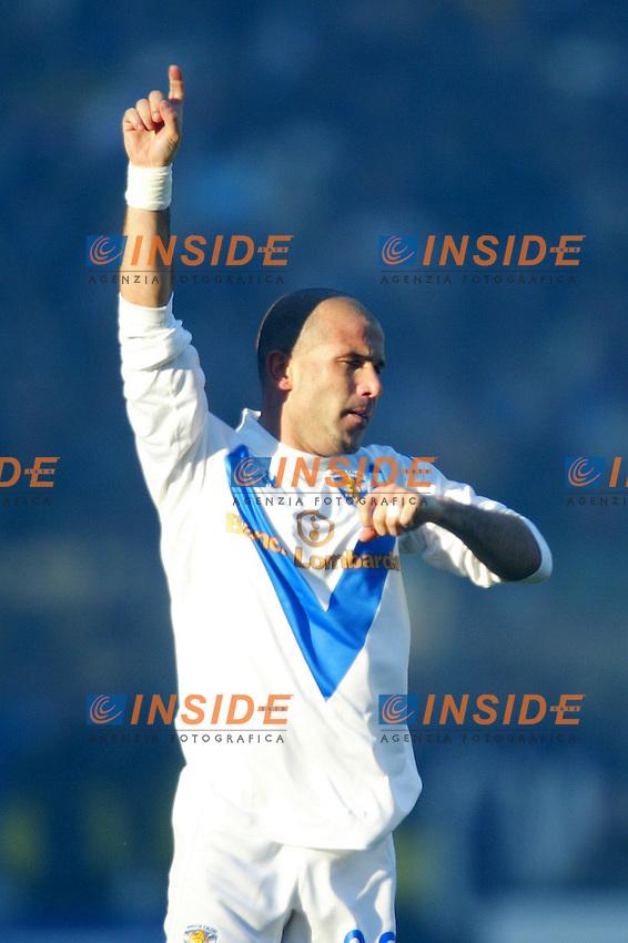 Roma 11/1/2004 <br /> Lazio Brescia 0-1 <br /> Luigi Di Biagio Brescia<br /> Photo Andrea Staccioli Insidefoto