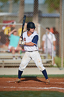 JP Martin during the WWBA World Championship at the Roger Dean Complex on October 21, 2018 in Jupiter, Florida.  JP Martin is a catcher from Cartersville, Georgia who attends Cartersville High School.  (Mike Janes/Four Seam Images)
