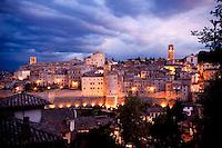 Historic centre of Anghiari, Tuscany, Italy
