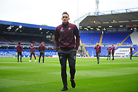Swansea City's Connor Roberts walks the pitch prior to the Sky Bet Championship match between Birmingham City and Swansea City at St Andrew's Trillion Trophy Stadium on August 17, 2018 in Birmingham, England.