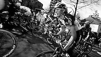 Fleche Wallonne 2012..apperently Andy Schleck can do this one with his eyes closed