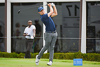 Matt Fitzpatrick (ENG) watches his tee shot on 17 during round 1 of the 2019 Charles Schwab Challenge, Colonial Country Club, Ft. Worth, Texas,  USA. 5/23/2019.<br /> Picture: Golffile | Ken Murray<br /> <br /> All photo usage must carry mandatory copyright credit (© Golffile | Ken Murray)