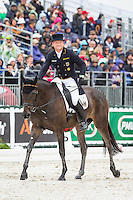 GER-Michael Jung (FISCHERROCANA FST) INTERIM-2ND: FIRST DAY OF DRESSAGE: EVENTING: The Alltech FEI World Equestrian Games 2014 In Normandy - France (Thursday 28 August) CREDIT: Libby Law COPYRIGHT: LIBBY LAW PHOTOGRAPHY - NZL