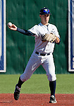 February 24, 2012:   Nevada Wolf Pack shortstop Kyle Hunt against the Utah Valley Wolverines during  their NCAA baseball game played at Peccole Park on Friday afternoon in Reno, Nevada.