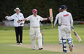 CS Challenge Cup Final, at Uddingston CC - Irvine CC bats celebrate their victory - picture by Donald MacLeod - 13.08.2017 - 07702 319 738 - clanmacleod@btinternet.com - www.donald-macleod.com