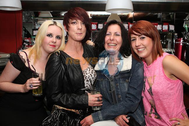 Tori Wilton, Siobhan Carroll, Joanna Wilton and Lisa Boyle in the Cellars....Photo NEWSFILE/Jenny Matthews.