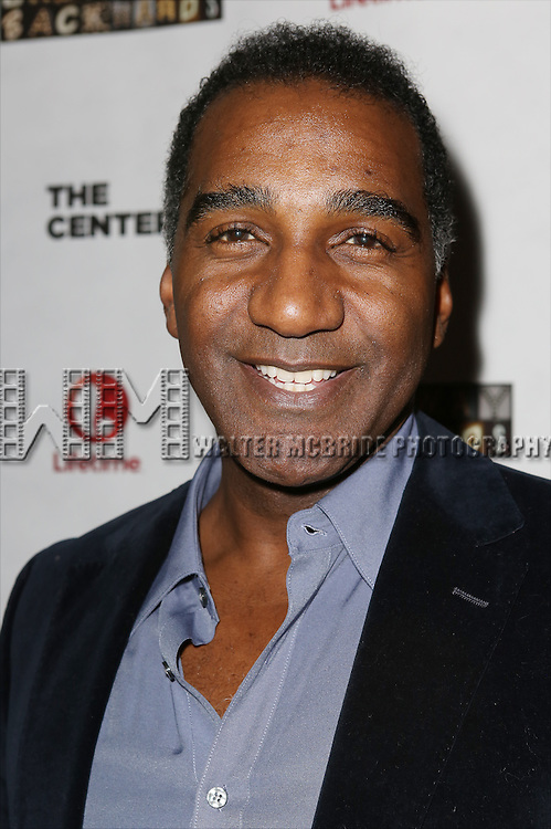 "Norm Lewis attends the ""Broadway Backwards"" After Party Reception  at John's Restaurant on March 24, 2014 in New York City."