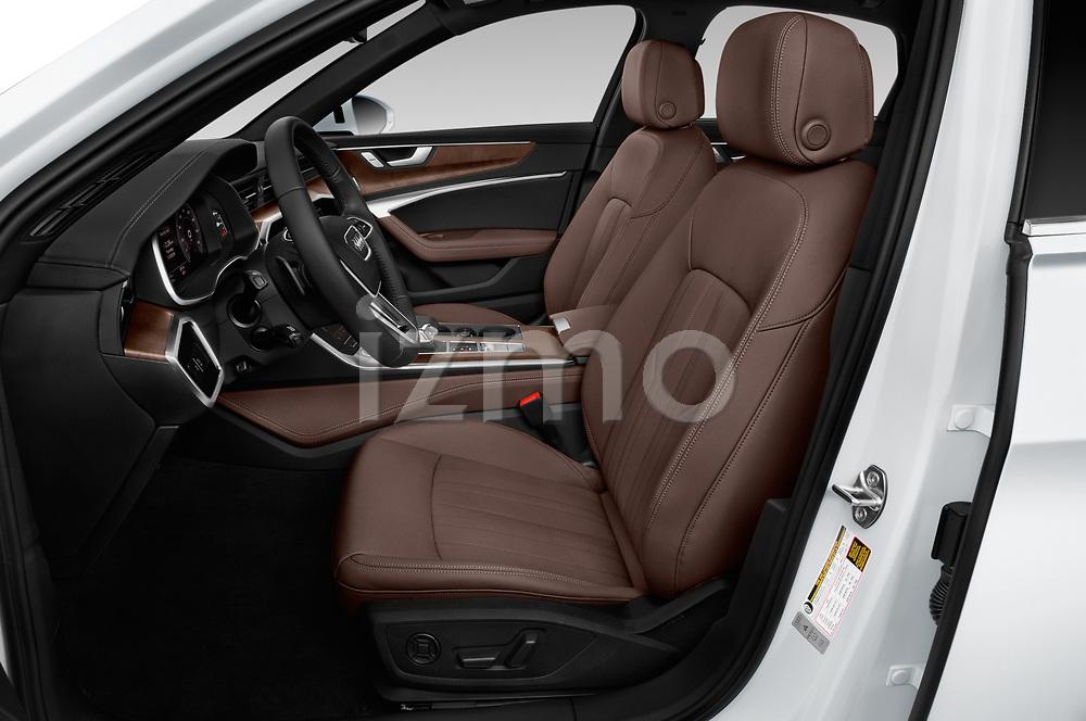 Front seat view of a 2019 Audi A6 Premium Plus 4 Door Sedan front seat car photos