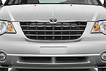 Close up front grille detail of a 2008 Chrysler Pacifica