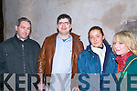 RECORDING: Pictured at the recording of the 'Other Voices' for RTE held at St James Church, Dingle were Fergal Daly, Michael Begley, Solveig Aschehoug and Stacey Brosnan from Dingle.   Copyright Kerry's Eye 2008