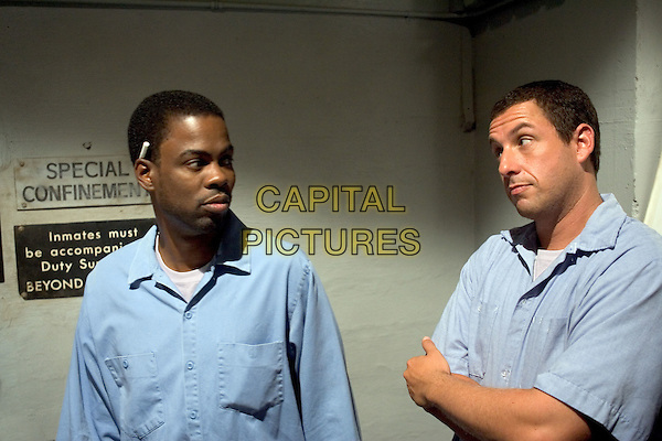 CHRIS ROCK & ADAM SANDLER.in The Longest Yard.Filmstill - Editorial Use Only.CAP/AWFF.www.capitalpictures.com.sales@capitalpictures.com.Supplied By Capital Pictures.