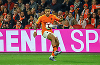 Memphis Depay (Niederlande) Freisteller, Isolation - 24.03.2019: Niederlande vs. Deutschland, EM-Qualifikation, Amsterdam Arena, DISCLAIMER: DFB regulations prohibit any use of photographs as image sequences and/or quasi-video.