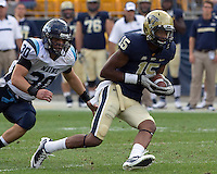 Pitt wide receiver Devin Street. The Pitt Panthers beat the Maine Black Bears 35-29 at Heinz Field, Pittsburgh, PA on September 10, 2011.