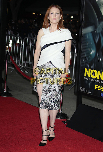 24 February 2014 - Westwood, California - Julianne Moore. &quot;Non-Stop&quot; Los Angeles Premiere held at the Regency Village Theatre. <br /> CAP/ADM/RE<br /> &copy;Russ Elliot/AdMedia/Capital Pictures