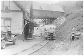 RGS Goose #3, #4 or #5 at Ophir Station unloading express.<br /> RGS  Ophir, CO