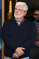 LOS ANGELES - MAR 8:  George Lucas at the Mark Hamill Star Ceremony on the Hollywood Walk of Fame on March 8, 2018 in Los Angeles, CA