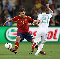 Midfielder of the national football team of Spain Xabi Alonso â?-14 and defender of the national football team of Portugal João Pereira â?-21