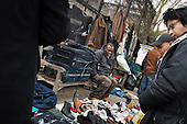 Car boot sale, Kilburn, London.
