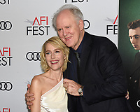 """16 November 2019 - Hollywood, California - Gillian Anderson, John Lithgow. AFI FEST 2019 Presented By Audi – """"The Crown"""" Premiere held at TCL Chinese Theatre. Photo Credit: Billy Bennight/AdMedia"""
