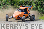 Action<br /> --------<br /> John Lahart thrilled the car fans in his JB Buggy with some fierce car speed and control around the former race track in Ballybeggan, Tralee at last Sundays Kerry Motor Clubs annual RallySprint.