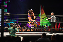 CORAL GABLES, FLORIDA - JANUARY 15: Shanna, Nyla Rose and referees Bryce Remsburg perform at the AEW Present Dynamite Bash At The Beach at Watsco Center at the University of Miami in Coral Gables, Florida on January 15, 2020 in Miami, Florida. ( Photo by Johnny Louis / jlnphotography.com )
