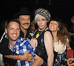 Richie Rich poses with Randy Jones (Village People) celebrates his marriage (this morning September 13, 2013) with a celebration at the 13th Annual Kings & Cowboys at DL in New York City, New York. Randy is also celebrating his birthday.  (Photo by Sue Coflin/Max Photos)
