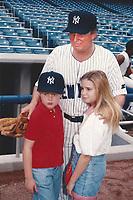 New York City<br /> 1992 <br /> Ivanka, Eric and Donald Trump<br /> Photo By John Barrett-PHOTOlink.net/MediaPunch
