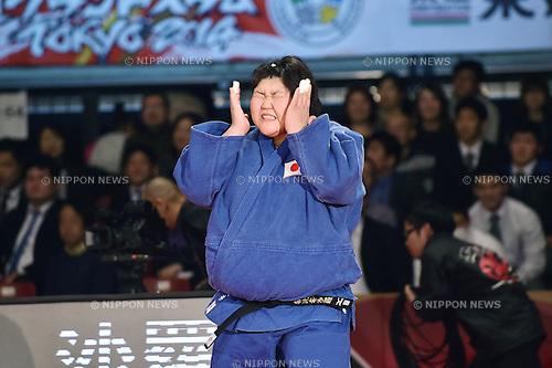 Sara Asahina (JPN), DECEMBER 7, 2014 - Judo : IJF Grand Slam Tokyo 2014 International Judo Tournament Women's +78kg Final at Tokyo Metropolitan Gymnasium, Tokyo, Japan. (Photo by AFLO)