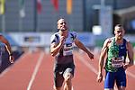 29.06.2019, Stadion Ratingen, Ratingen, DLV, Mehrkampfmeeting im Bild Kai Kazimirek ( LG Rhein-WIed ) beim 100m Lauf.<br /> <br /> <br />   <br /> <br /> Foto © nordphoto / Freund