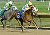 Ovour the Moon winning at Delaware Park on 8/31/10