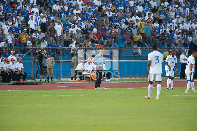 San Pedro Sula, Honduras - February 6, 2013: The US Men's National team falls to Honduras 2-1 during the first match of World Cup Hexagonal round.