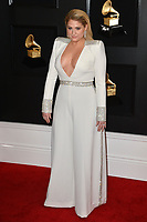 LOS ANGELES, CA - FEBRUARY 10: Meghan Trainor at the 61st Annual Grammy Awards at the Staples Center in Los Angeles, California on February 10, 2019. <br /> CAP/MPIFS<br /> &copy;MPIFS/Capital Pictures