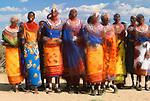 Samburu tribes people, Samburu National Reserve, Kenya
