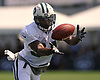 Marcus Murphy #34 makes a catch during a day of New York Jets Training Camp at Atlantic Health Jets Training Center in Florham Park, NJ on Monday, July 31, 2017.